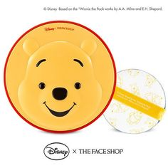 [The Face Shop] Disney Character Pooh CC Cooling Cushion #TheFaceShop