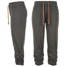 Miss Fiori Three Quarter Fleece Sweatpants Ladies - SportsDirect.com