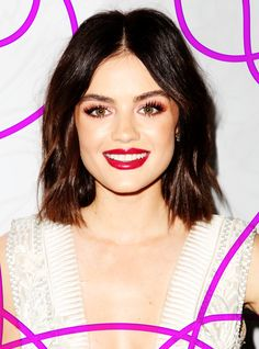Lucy Hale Just Cut Her Hair Into The Chicest Bob #refinery29