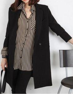 Stylish Lapel Neck Long Sleeve Slimming Oversized Blazer For Women