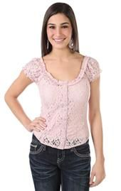 Tops   DebShops.com Deb Shops, Lace Button, Peasant Tops, New Pins, Cute Outfits, Fancy, Buttons, Sleeve, Women's Fashion