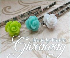 Rose Accessories #Giveaway by Made By LinLin! Deadline to enter is August 20, 2012.