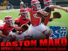 Easton Mako baseball catchers gear