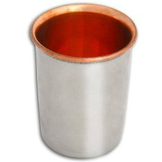 "India Copper Tumbler Glasses Asian Drinkware Set of 2 by ShalinCraft. $27.99. Capacity 8.5 ounces, Dia: 3 inches, Height: 4 inches, Weight: 170 GR, volume: 250 ML. Best for special occasions and festivals. Inside copper,outside stainless steel. Tumbler Glass set of 2 for traditional Indian dining. Handmade by artisans of Mathura in north India.. A sumptuous Indian dinner would be incomplete without refreshing libations to make toasts with. Say ""cheers"" with Ind..."
