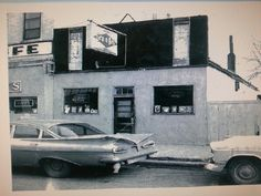 Snake Pit Bar in Fort Pierre SD. Between Duffy's Cafe and the Rocking R Bar. Vintage picture.