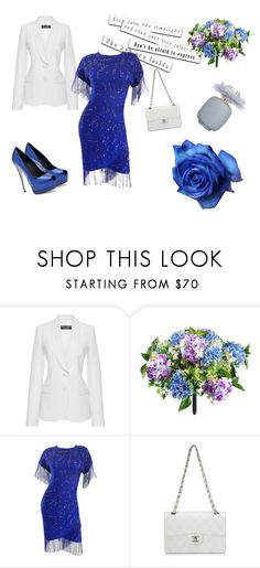"""afraid"" by katja-partylady ❤ liked on Polyvore featuring Thakoon Addition, Improvements and Chanel"