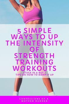 5 simple ways to increase the intensity of your strength training workouts Strength Training For Runners, Strength Training Workouts, Home Exercise Routines, At Home Workouts, Upper Body Workout For Women, Fitness Tips, Fitness Motivation, Jogging In Place, Jump Rope Workout