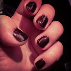 Gelish: Inner Vixen! #maryyounker #nails #gelish