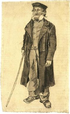 Vincent van Gogh > Orphan Man > The Hague, November - 6-8, 1882