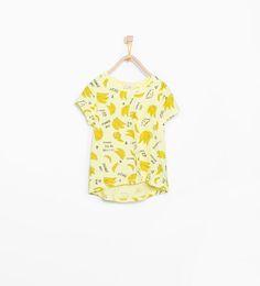 ZARA - ENFANTS - T-shirt à motifs fruits