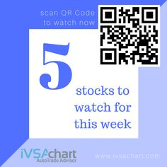 Top 5 Stocks to Watch Out for this Week #17  Did you know these stocks were potential trading ideas for the past week(s)? We knew & running profits now!  Please click on URL link below to watch the video:  https://youtu.be/UgBiaw_7hx4  Note: This post is meant for information sharing. It does not served as trading ideas for buy or sell at this point as iVSAChart members' entry points are way earlier. Please do your research and practice prudent risk management as you are responsible for your…