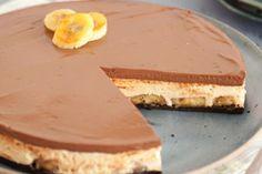 Torta Mousse de Doce de Leite e Banana Grelhada