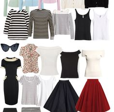 My Retro-Inspired Capsule Wardrobe