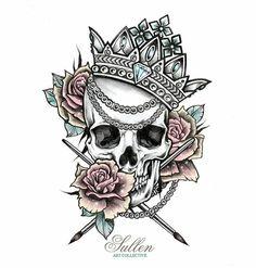 Cholos Cholas Aztec Tattoo Graffiti Gangster Weed Cannabis … – Graffiti World Pretty Skull Tattoos, Skull Tattoo Flowers, Skull Rose Tattoos, Beautiful Tattoos, Hand Tattoos, Sleeve Tattoos, Tatoos, 1 Tattoo, Tattoo Drawings