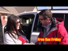 #FreeGasFriday Winner! Ashley Duggar out in her GMC Yukon! - YouTube