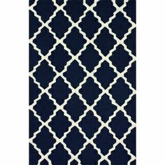 nuLOOM Hand-hooked Alexa Moroccan Trellis Wool Rug (3'6 x 5'6) | Overstock.com Shopping - Great Deals on Nuloom 3x5 - 4x6 Rugs