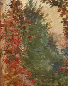 Marie Bracquemond Paintings | Marie Bracquemond - Jardin Vu De La Fenêtre