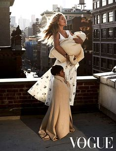 Mama crush! Doutzen Kroes poses with her children for Vogue Netherlands' March 2015 issue.