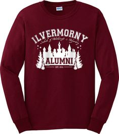 Ilvermorny School of Witchcraft and Wizardry Alumni T-shirt Short Sleeve Tee eadcd3cfe