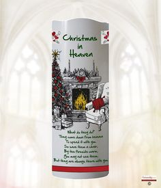 """When a loved one has passed, although always present in your heart, a Led Remembrance candle is a lovely way to signify their presence on your life.  Personalised Led Remembrance candle in 9 """"in height.  A safe, flame less, electronic battery operated led wax candle.  Has a built in automatic timer with three activation position - OFF, 4 Hours or 8 Hours. Fire Candle, Candle Set, Christmas In Heaven, Flickering Lights, Personalized Candles, Angels In Heaven, 4 Hours, Battery Operated, Vodka Bottle"""