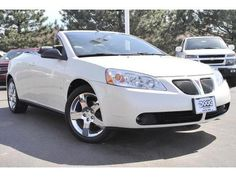 Cars for Sale: 2008 Pontiac G6 GT Convertible in Akron, OH 44312: Convertible Details - 303318733 - AutoTrader.com