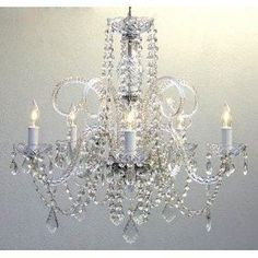 This beautiful Chandelier is trimmed with SPECTRA(tm) CRYSTAL _ Reliable crystal quality by Swarovski�! <br>Swarovski� is the world's leading manufacturer of high quality crystal. SPECTRA(tm) CRYSTAL ...