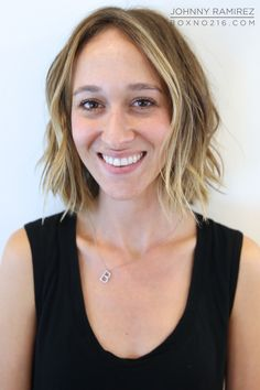 Short hair saturday from all angles cut style anh co for 3 brunettes and a blonde salon