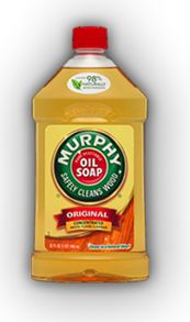 Had to pin this AGAIN as I just discovered Murphy diluted in water cleaned my stainless steel fridge AND sink with hardly any elbow grease. I wiped down the surfaces with a rag soaked in the soap/water and rung then wiped it down with a clean, dry cloth. Amazed.