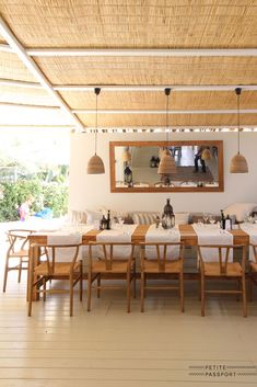 Yesterday a great new beach club officially opened its doors, called Beachouse Ibiza. From the same owners as the other successful beachclub called El. Pool Bar, Ibiza, Tiny Beach House, Bamboo House Design, Bamboo Construction, Wooden Cottage, Beach Cafe, Comfort Design, House With Porch