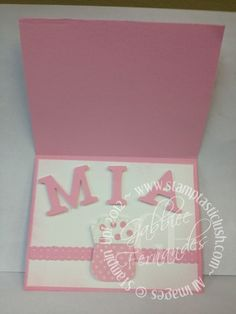 Stampin Up! Birthday Card (inside)