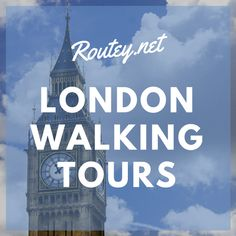london walking tours self guided