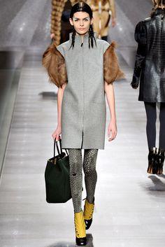 Fendi Fall 2012 Ready-to-Wear Fashion Show - Melissa Stasiuk