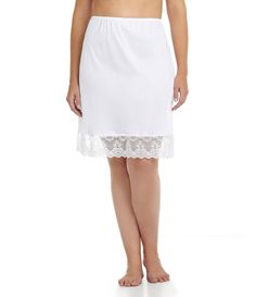Shop for Cabernet Plus Chopper Half Lace Slip at Dillard's. Visit Dillard's to find clothing, accessories, shoes, cosmetics & more. The Style of Your Life. Sheer Lingerie, Pretty Lingerie, Plus Size Lingerie, Women Lingerie, Lace Slip, Satin Slip, Moda Xl, Under Dress, Ladies Slips