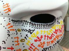 detalle máscara Batman