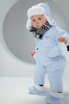 Absorba Baby Boy Blue Snowsuit