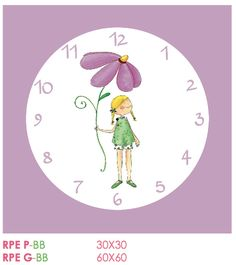 Relojes de pared Cuadriman www.bbthecountrybaby.com