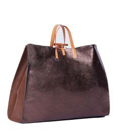 Borsa Manila Grace Felicia bag g00201 md507 riace cuoio reversibile large fw 16/17