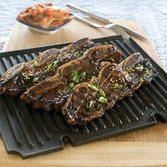 Grilled Beef in Sweet Soy Marinade