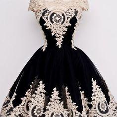 Lace prom dress,black prom dress,a line prom dress,fashion prom dress,sexy party dress, new style evening dress