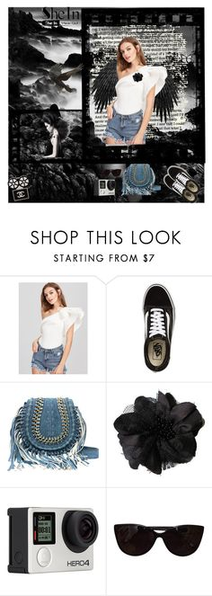 """""""SheIn"""" by colicarnel ❤ liked on Polyvore featuring Vans, Billabong, Tiffany & Co. and Chanel"""