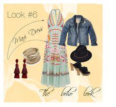 Look 6 Fashion Buying Temperley, Ulla Johnson, Vintage Jacket, Look Fashion, Hollister, London, Polyvore, Jackets, Stuff To Buy