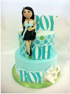 Boy Oh Boy! - by hotmamascakes @ CakesDecor.com - cake decorating website