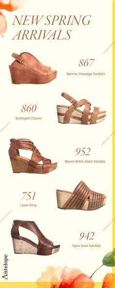 1534ad44eb9 Antelope s New Spring Sandals - Discover Stylish and Comfortable Wedges!  Spring Sandals