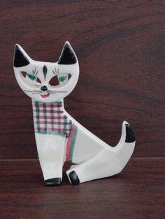 Click to view larger image                   Have one to sell? Sell it yourself     Dorothy Clough Upsala Ekeby Cat Swedish Design