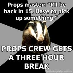The Backstage Badger