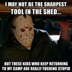 Explore funny Halloween memes pictures you should read on this Halloween eve. We include adult memes, funny memes, creepy or scary memes for Halloween Horror Movies Funny, Horror Movie Characters, Scary Movies, Horror Films, Film Meme, Movie Memes, Movie Logic, Funny Halloween Memes, Halloween Horror