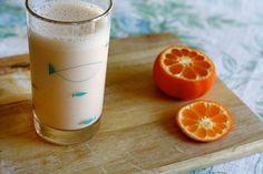 Super Citrus Smoothie Serves: one big smoothie  A juicer A blender 2 tbsp Meyer lemon juice The juice of 1/2 a grapefruit (save the other ha...