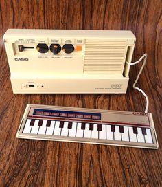 MATRIXSYNTH: Vintage Casio PT-7 1980's Mini Preset Synthesizer