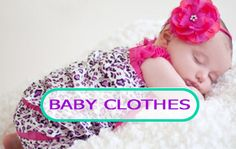 Adorable Baby Clothes and Accessories