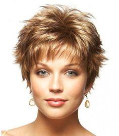 1 of 3 Short Hair Up, Women's